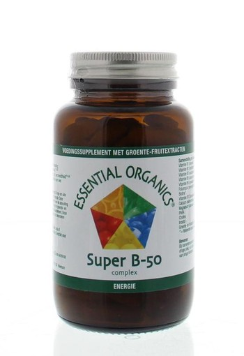 Essential Organ Super B50 complex (90 tabletten)