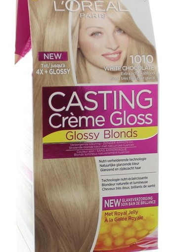 Loreal Casting creme gloss 1010 White chocolate (1 set)