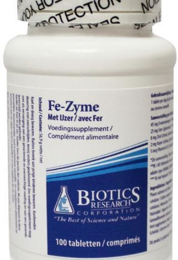 Biotics FE zyme 25 mg (100 tabletten)