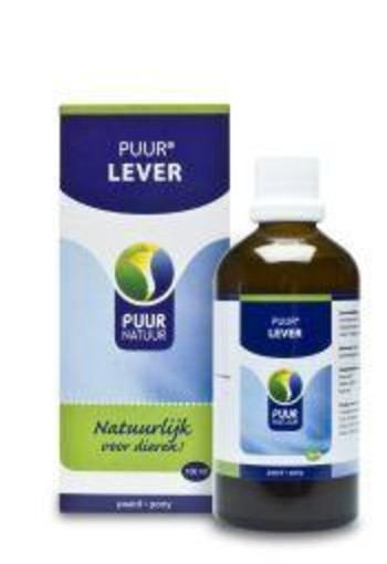 Puur Lever paard / pony (100 ml)