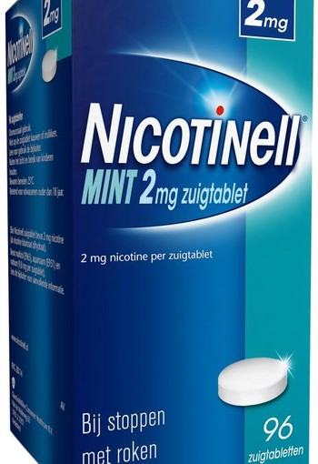 Nicotinell Mint 2 mg (96 zuigtabletten)