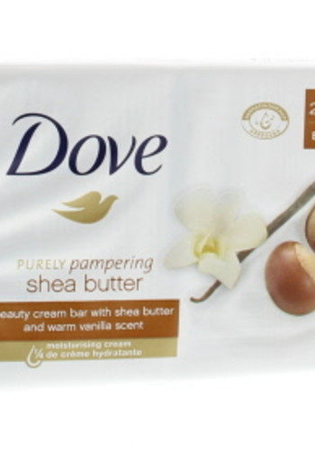 Dove Beauty cream bar sheabutter 2 x 100 gram (200 gram)