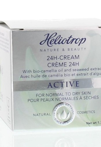 Heliotrop Active creme pot 24 uur (50 ml)