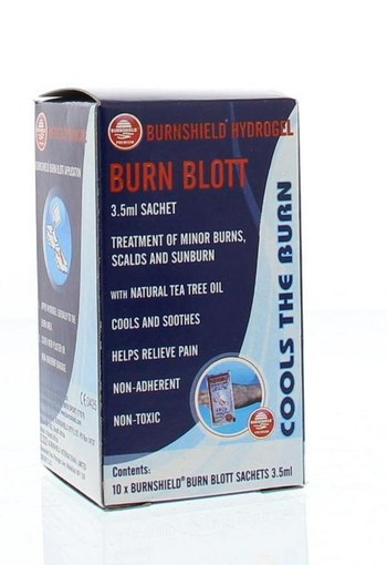 Burnshield Burnshield blot gel 10 x 3.5 ml (35 ml)