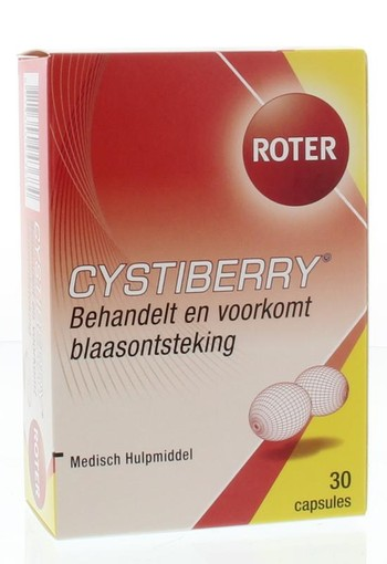Roter Cystiberry (30 capsules)