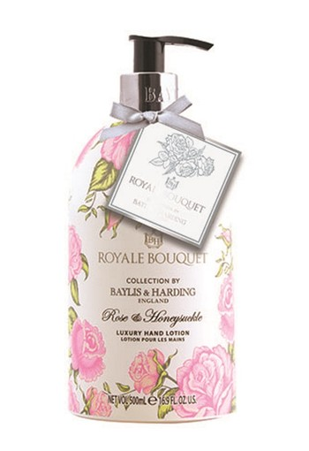 Baylis & Harding Royale bouquet handlotion rose & honeysuckle (500 ml)