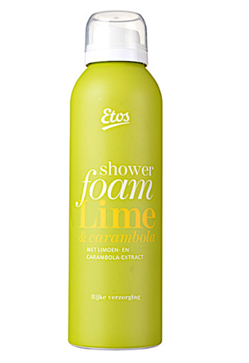 Etos Shower foam li­me & ca­ram­bo­la  200 ml