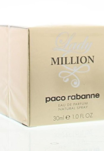 Paco Rabanne Lady million eau de parfum (30 ml)