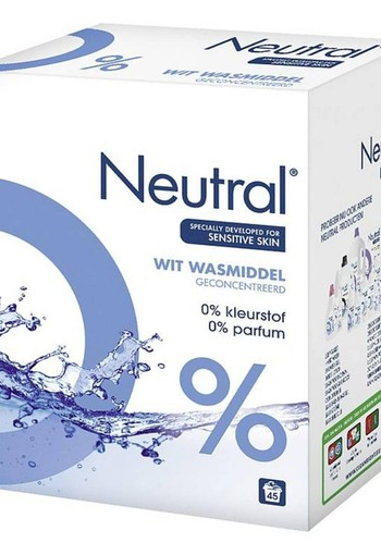 Neutral Waspoeder wit (3 kilogram)