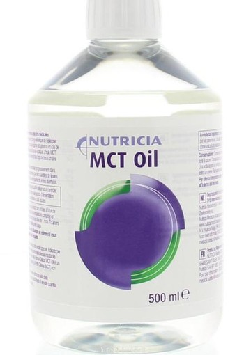 Diversen MCT olie Nutricia (500 ml)