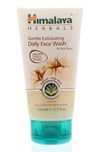 Himalaya Herbals gentle exfoliating daily facewash (150 ml)