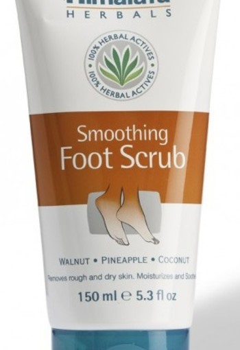 Himalaya Herbals smoothing foot scrub (150 ml)