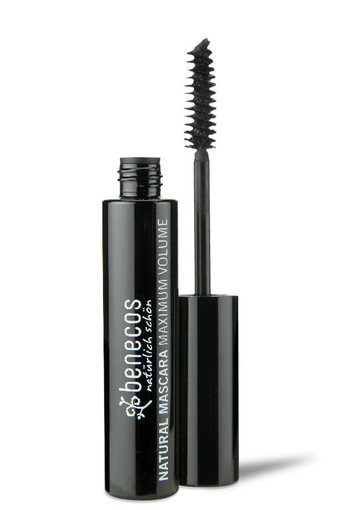 Benecos Mascara maximum volume intens zwart (8 ml)