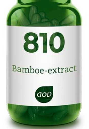 AOV 810 Bamboe extract (90 capsules)