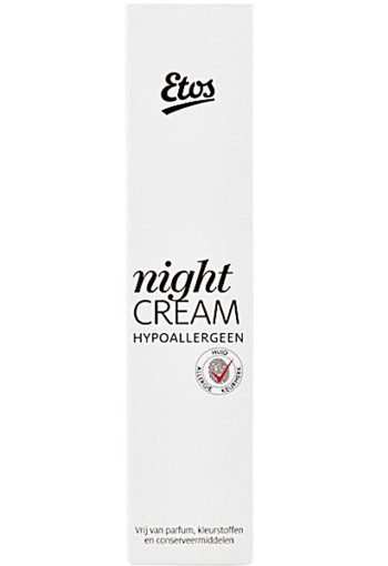 Etos Nightcream hy­po al­ler­geen 50 ml