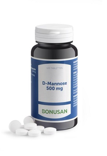Bonusan D-Mannose 500 mg (120 tabletten)