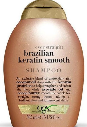 OGX Brazilian keratin therapy shampoo (385 ml)