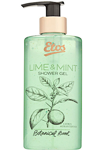 Etos Bo­ta­ni­cal Li­me & mint shower gel 300 ml