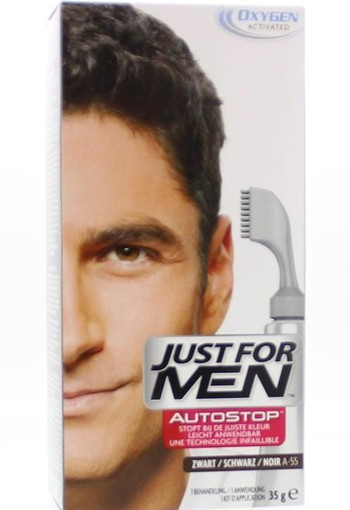 Just For Men Autostop zwart A55 (36 gram)