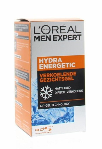 Loreal Men expert hydra energetic hydraterende gel (50 ml)
