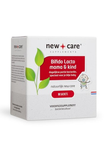 New Care Bifido lacto mama en kind (10 sachets)