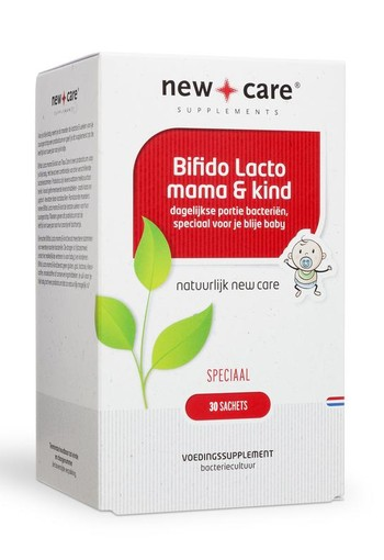 New Care Bifido lacto mama en kind (30 sachets)