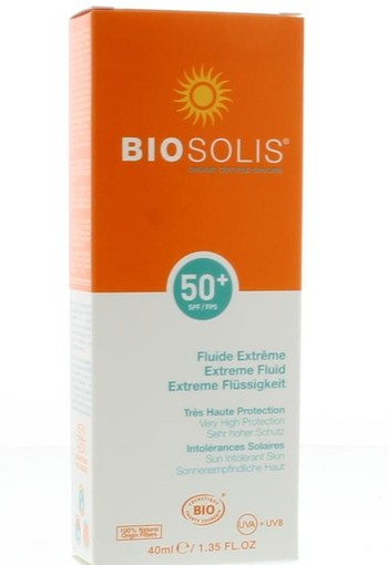 Biosolis Extreme fluid SPF 50+ (40 ml)