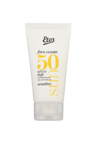 Etos Sun fa­ce cream sen­si­ti­ve SPF 50 / 50 ml