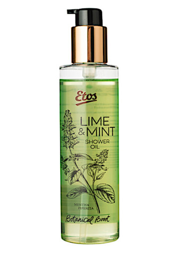 Etos Bo­ta­ni­cal Li­me & mint shower oil  200 ml