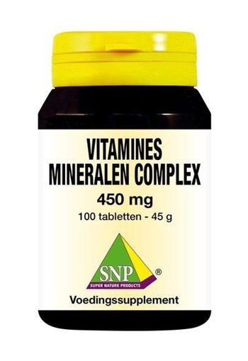 SNP Vitamines mineralen complex 450 mg (100 tabletten)