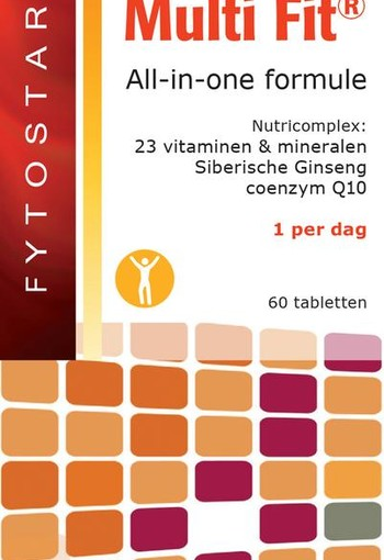 Fytostar Multi fit multivitamine (60 tabletten)