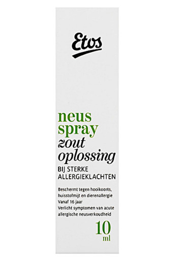 Etos An­ti-al­ler­gie neus­spray 10 ml