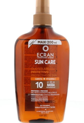 Ecran Sun oil carrot SPF 10 spray (200 ml)