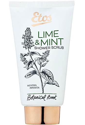 Etos Bo­ta­ni­cal Li­me & mint shower scrub  150 ml