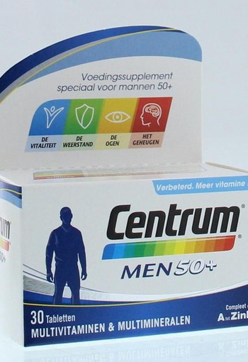 Centrum Men 50+ advanced (30 tabletten)