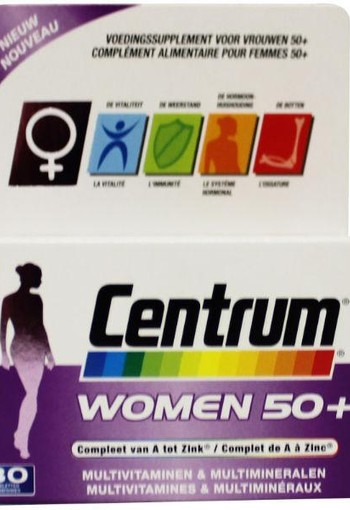 Centrum Women 50+ advanced (30 tabletten)