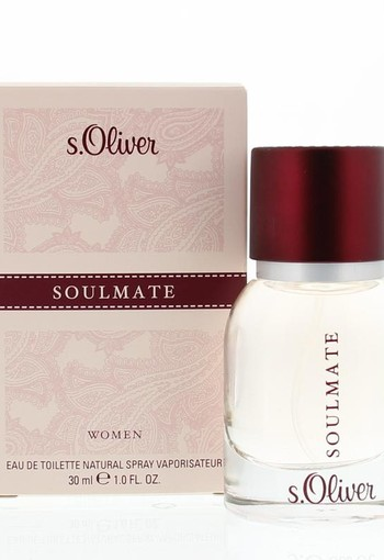 S Oliver Woman soulmate eau de toilette spray (30 ml)