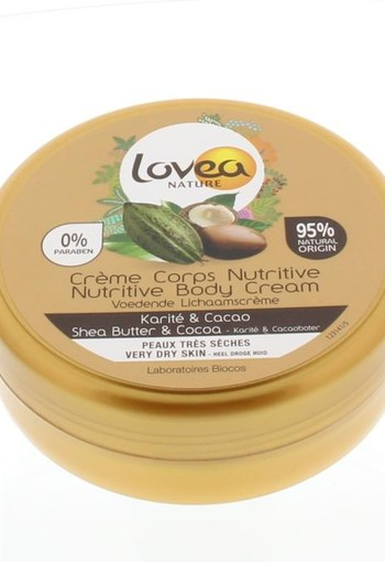 Lovea Body cream shea & cocoa (150 ml)