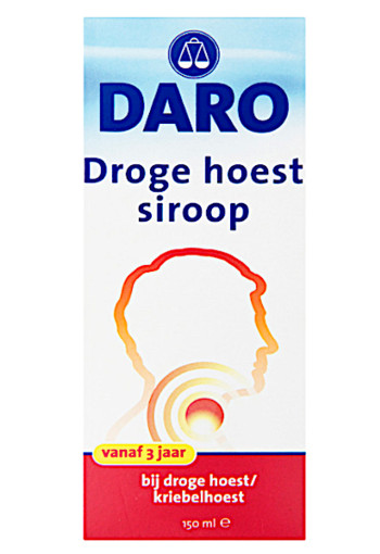 Da­ro Dro­ge hoest si­roop 150 ml