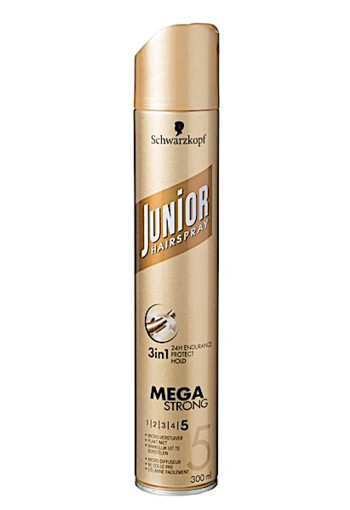 Schwarzkopf Junior Mega Sterk Hairspray 300ml
