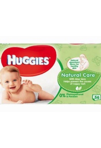 Huggies Wipes Naturalcare 56st