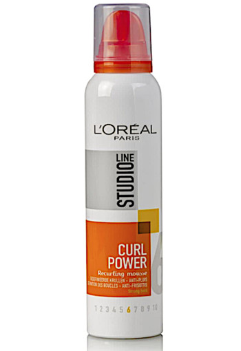 L'Oréal Paris Studio Line Essentials Curl Power Recurling Mousse - 200 ml