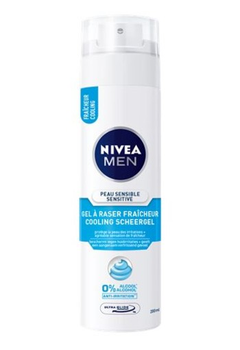 Nivea Men shaving gel cool (200 ml)