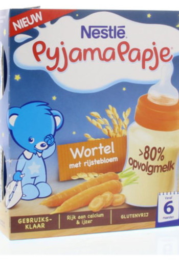 Nestle Pyjamapapje Wortel 2x250