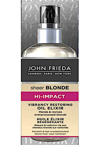 Jo­hn Frie­da Hi-Im­pact vi­bran­cy res­to­ring oil  100 ml