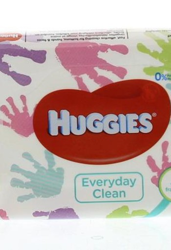 Huggies Wipes every day (56 stuks)