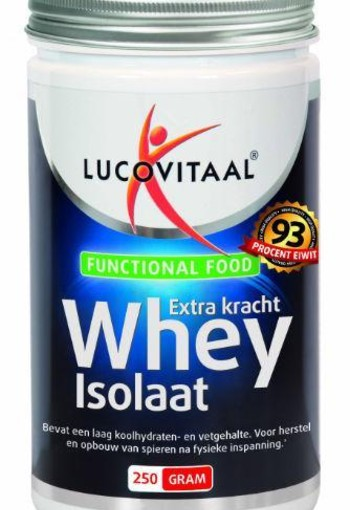 Lucovitaal Funtional Food whey isolaat (250 gram)