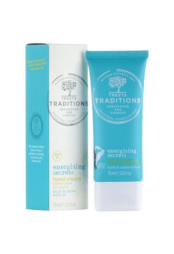 Treets Energising Secrets hand cream (75 ml)