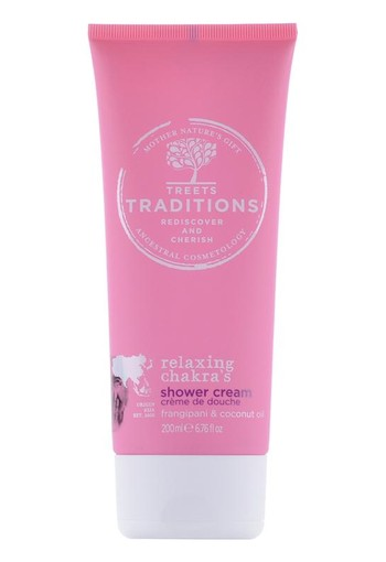 Treets Relaxing chakra?s showercream (200 ml)
