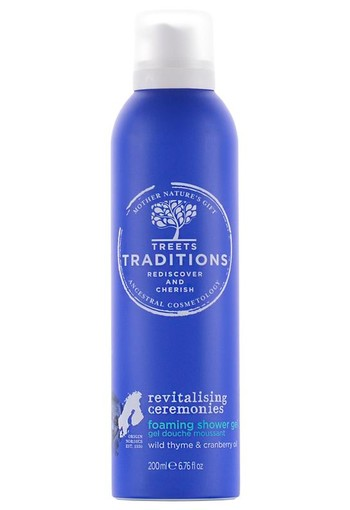 Treets Revitalising Ceremonies foaming shower gel (200 ml)